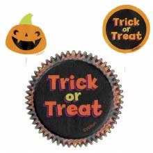 Wilton Baking Cup: Trick/treat Kit