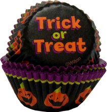 Wilton Trick Or Treat Mini Baking Cup