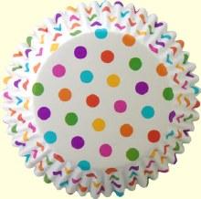 Wilton Color Cups: Rainbow Dots/36