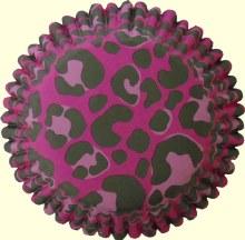 Wilton Color Cups Pink Leopard