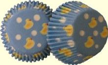 Wilton Mini Baking Cups: Ducky/100