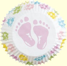 Wilton Baby Feet Baking Cup