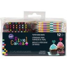 Wilton Pixel Cakes Hexagon Paper Baki