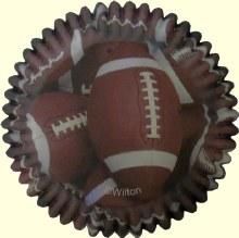 Wilton Color Cups: Football/36
