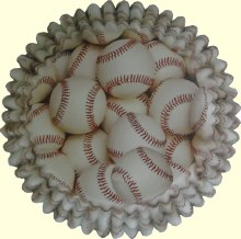 Wilton Color Cups: Baseball/36