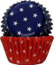 Wilton Red, Blue & White Mini Cup
