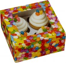 Wilton Jelly Bean Cupcake Box