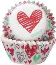 Wilton Mini Valentine Baking Cups: Gr