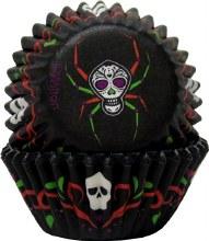 Skull/spider Baking Cups