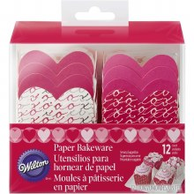 Paper Baking Cups - Heart