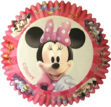Wilton Minnie Mouse Baking Cups/50
