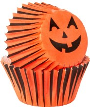 Wilton Mini Baking Cups: Jack-o-lante
