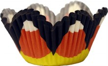 Wilton Candy Corn Mini Petal Cups/48