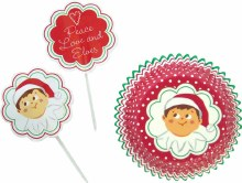Wilton Elf On The Shelf Cupcake Combo