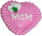 Pink Mom Heart 2pc