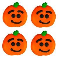 Smiling Pumpkin Face 6pkg