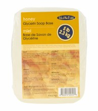 Life of the Party 5 Lb Clear Honey Glycerin Soap