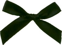 Black Bows Pkg Of 10