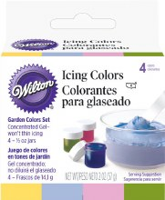 Wilton Garden Tone 4-icing Color Set