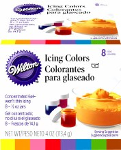 Wilton 8-icing Color Set