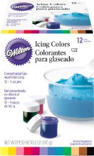 Wilton 12-icing Color Set