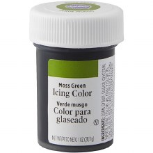 Wilton Icing Color: 1 Oz Moss Green