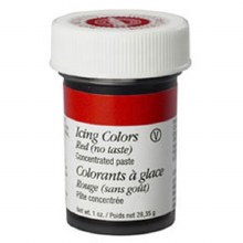 Wilton Icing Color: 1 Oz No-taste Red