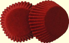 #6 Red Candy Cups 80/pkg