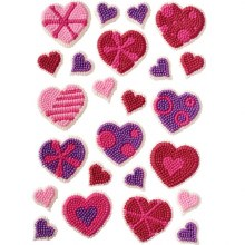 Wilton Designer Hearts Icing Decorati