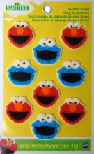 Wilton Elmo&cookie Monster Icing Dec.