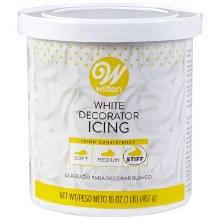 Wilton White Decorator Icing
