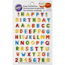 Wilton Letters & Numbers Icing Dec.