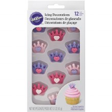 Wilton Crown With Heart  12ct