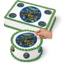 Wilton Ninja Turtles Edible Images