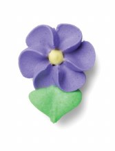 Royal Icing Small Violet Flowe