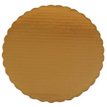 Gold Board 8' Scalloped 6/pkg