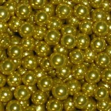 8 Mm Gold Dragees 4 Oz
