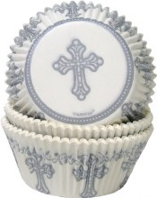 Amscan Baking Cups: Cross