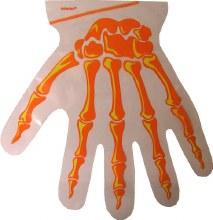 Amscan Skeleton Hand Bags With Ties
