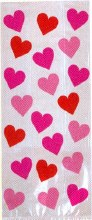 Amscan Hearts Party Bags