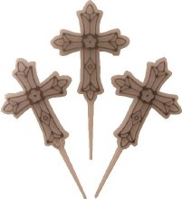 Amscan Cross Picks With Silver Accent