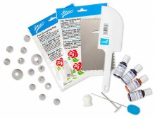 ATECO 28 Pc Cake Decorating Set