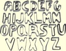 ATECO Alphabet Cutters