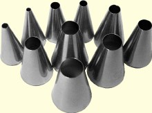 ATECO Ateco 10 Pc Plain Tip Set