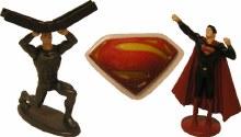 Superman 'man Of Steel' Cake T