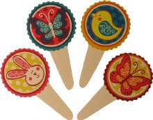 2 1/2' Easter Flexi Picks/12