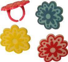 Easter Flower Rings/12