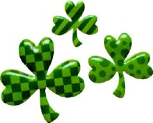 3 Pc Shamrock Pop Top Set