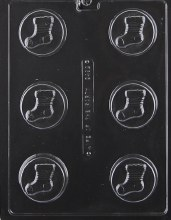 Life of the Party Stocking Cookie Mold