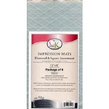 CK Product Impression Mats 12x6 4pc Diamo
